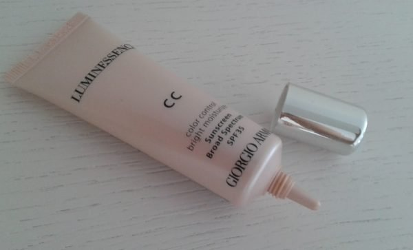 Giorgio Armani Luminessence Color Control Cream Bright Moisturizer SPF 35