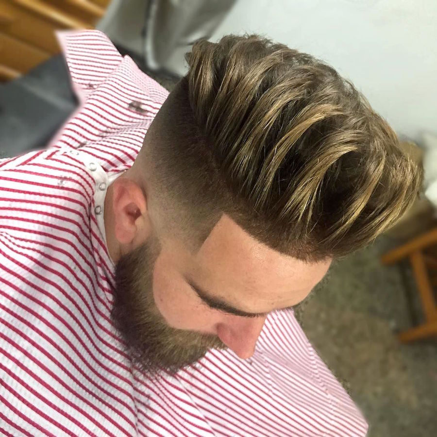 Long thick textures and high fade