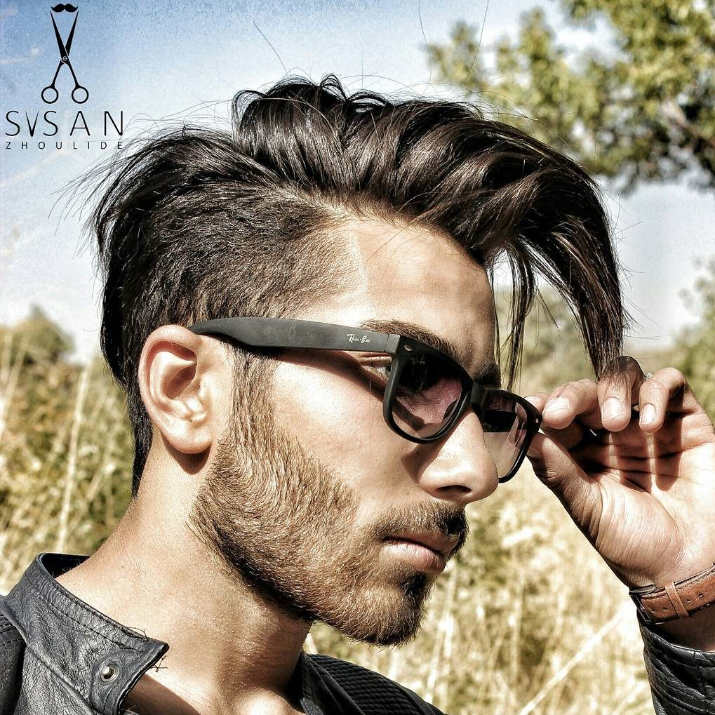 sasanzhoulide long mens hairstyle new