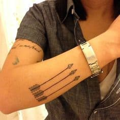 Arrow Tattoo Meaning 3
