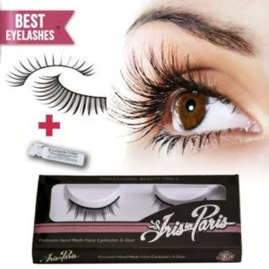 5. Iris in Paris Professional False Eyelashes with Glue Set